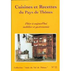 22 - Cuisines et Recettes du Pays de Thônes, mobilier et gastronomie