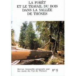 La forêt et le travail du bois dans la Vallée de Thônes
