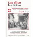 25 - Lou diton - Les dictons, en savoyard et en français