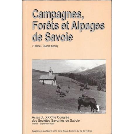 Hors Série - Campagnes forêts alpages de Savoie (13e-20e s.)